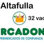 PERSONAL DE SUPERMERCADO en Altafulla