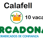 PERSONAL DE SUPERMERCADO en Calafell