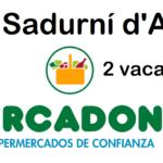 PERSONAL DE SUPERMERCADO para fin de semana en Sant Sadurní d'Anoia