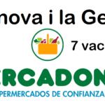 PERSONAL DE SUPERMERCADO en Vilanova i la Geltrú