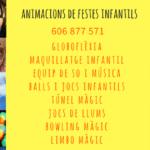 Animaciones y fiestas infantiles