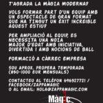 ASSISTENTA DE MAG I BALLARINA PER SHOW DE MÀGIA