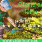 EMPRESA PRECISA 4 JARDINERS I UNA DEPENDENTA DE BOTIGA