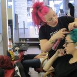 Prácticas de peluquería