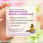 Reflexología Podal- Manual Domicilio