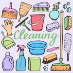 Limpieza en domicilios.