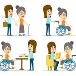 Cuidadora personas dependientes