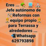 Jefe autónomo de Reformas + equipo