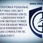 CURSOS DE DEFENSA PERSONAL KRAV MAGA