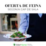 Segundo/a JEFE DE COCINA