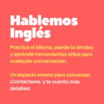 Practica y mejora tu Inglés: espacio para conversar