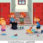 Limpieza de colegio en sitges