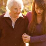 Cuidadora gente mayor