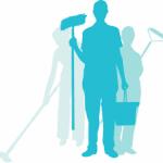 Profesional de limpieza