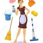 Realizo tareas de limpieza y Canguro.