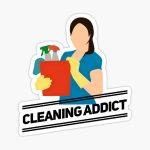 Limpieza de casa, cuidado de niños