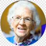 Cuido personas mayores, de vocación.