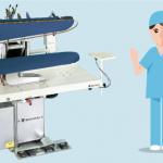 Lavanderia industrial ofrece trabajo de planchadoras