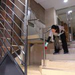 Trabajo en comunidad de propietarios de 4 escaleras