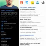 Estudiante de programación web y Unity