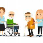 Cuidadora para personas mayores