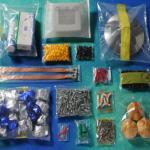 Etiquetado y embolsado de piezas desde casa