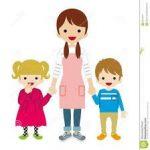 Canguro o cuidadora de niños