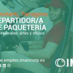 REPARTIDOR/A DE PAQUETERÍA
