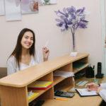 Auxiliar administrativa/ recepcionista