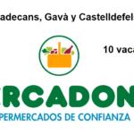 PERSONAL DE SUPERMERCADO para campaña en Viladecans-Gavà-Castelldefels